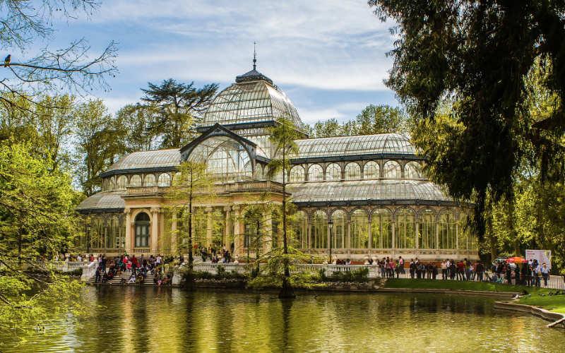 Palacio de Cristal - Madrid citytrip