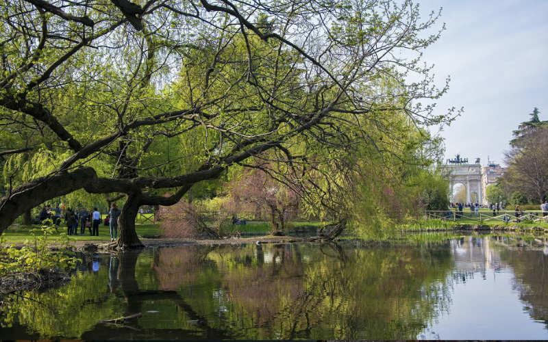 Parco Semptiobne Milaan Citytrip
