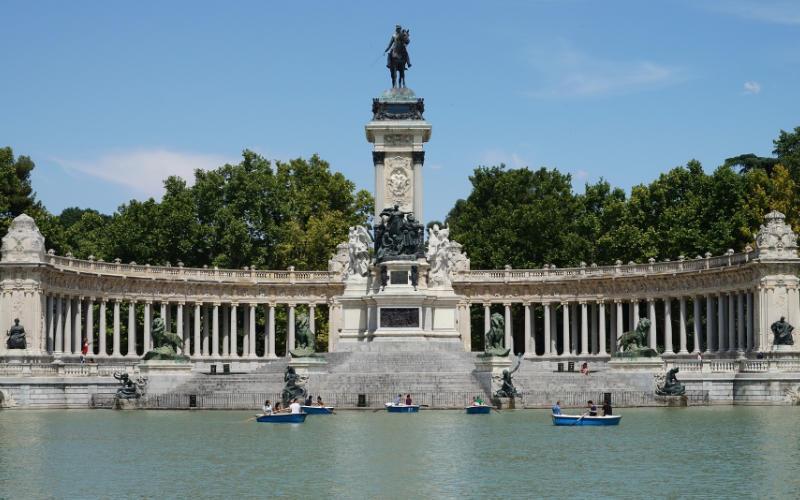 Retiro Park Madrid Citytrip