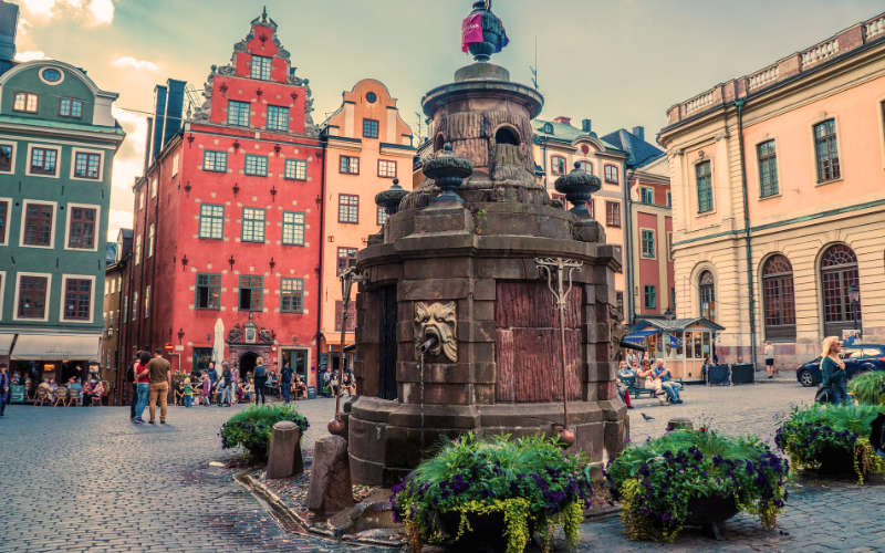 stortorget gamla stan stockholm citytrip