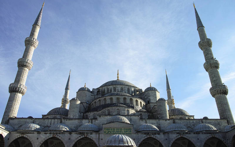 blauwe moskee - Istanboel citytrip