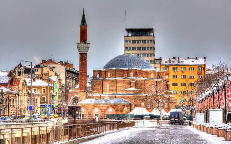 Banya Bashi moskee Sofia stedentrip