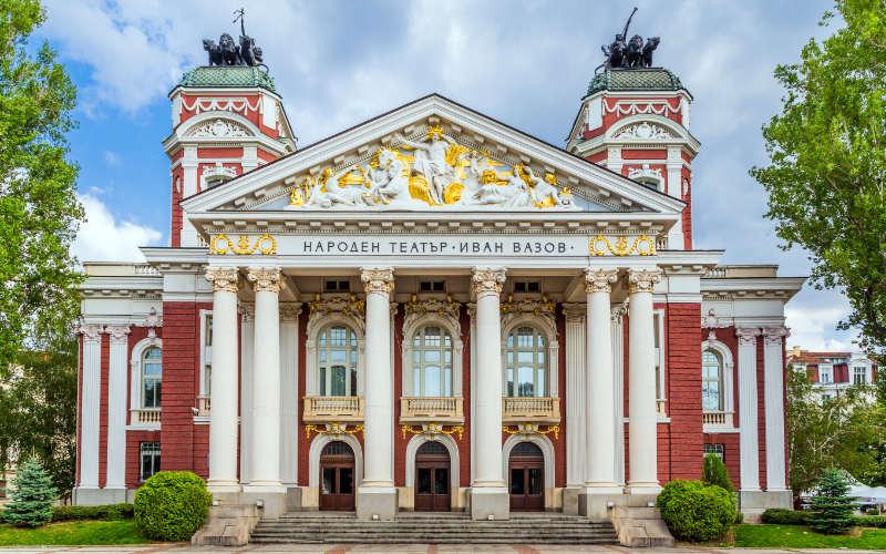 Ivan Vazov theater sofia citytrip